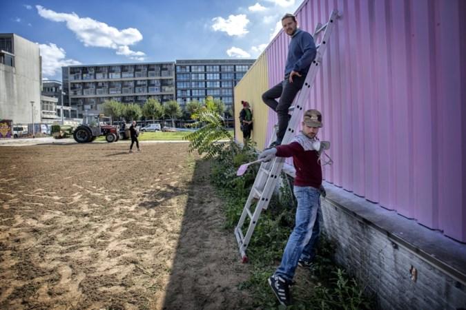 Drielandenkunst siert stadstuin op Schinkelterrein in Heerlen