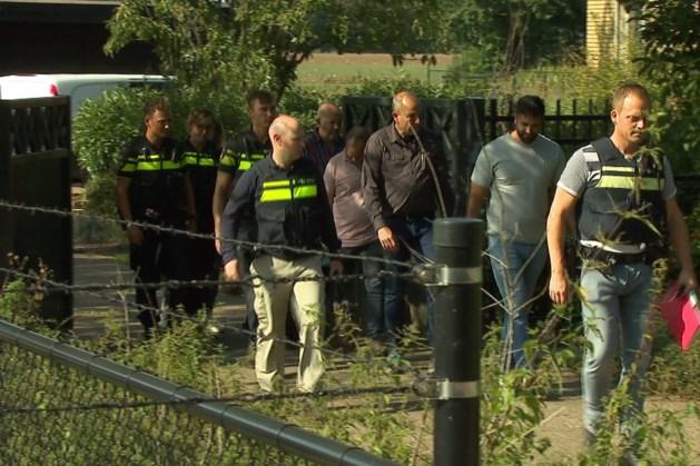 Duitse recherche doorzoekt woning in Belfeld