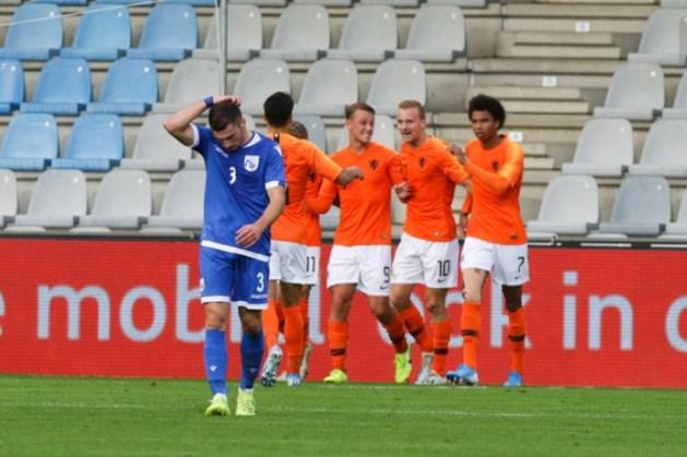 Jong Oranje start met zege op Jong Cyprus