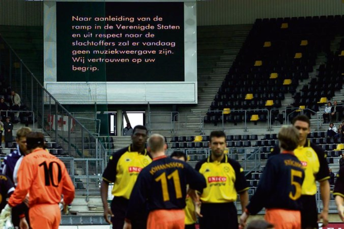 Die bizarre dag waarop voetbal zinloos was