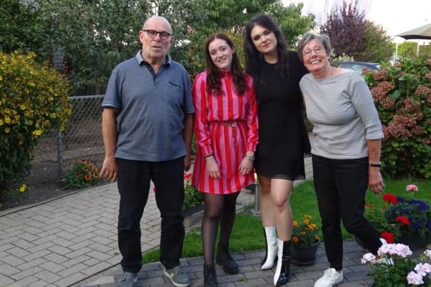 Nienke is trots op haar opa en Dominique op haar debuut in de Champions League