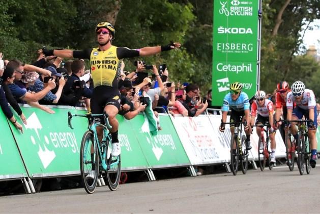 Hattrick voor Groenewegen in Tour of Britain
