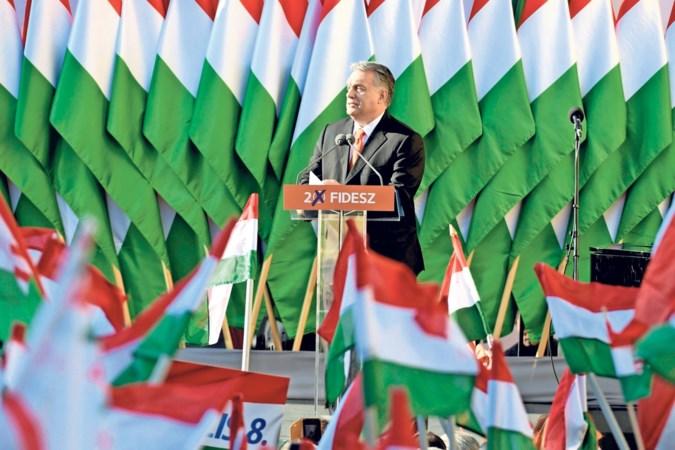 Viktor Orbán is de held van Hongarije