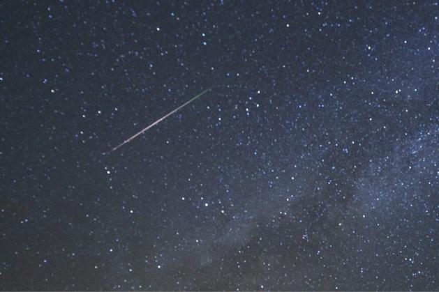 Meteoor schiet door dampkring: 'Je kon hem heel goed zien'