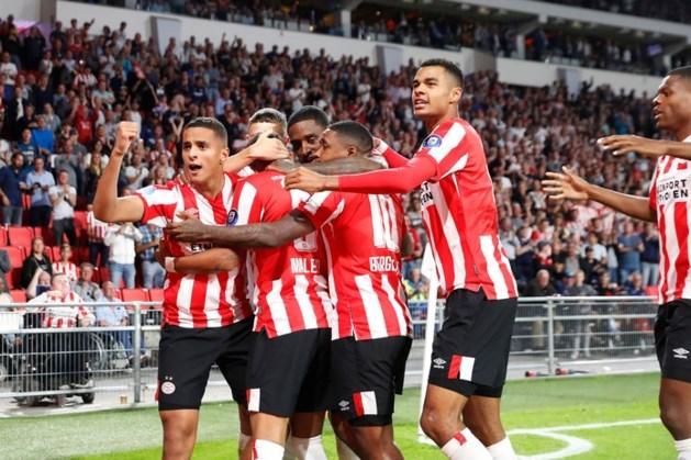 PSV begroet fors meer supporters dan voorheen in Europa League-duels