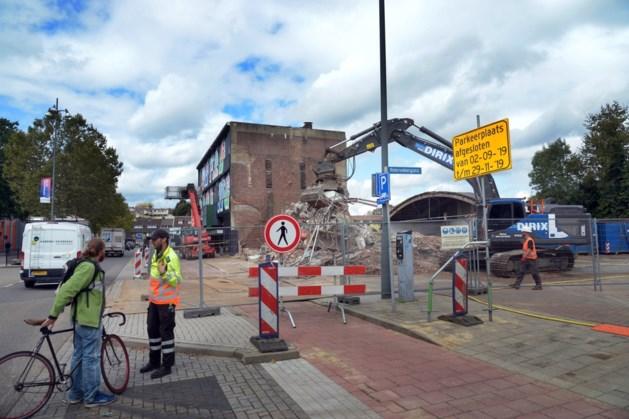 Sloop van panden aan Spoorsingel Heerlen voor nieuwe woningbouw
