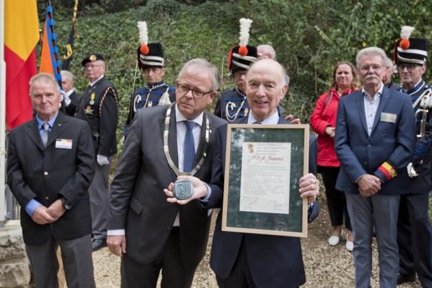 Legpenning van Verdienste voor Jacques Aussems