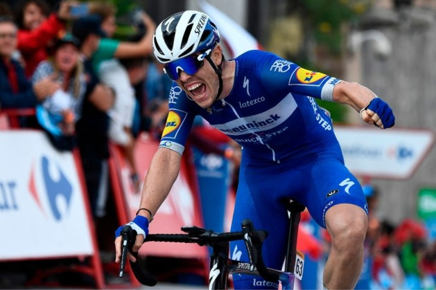 Roglic ontsnapt, Cavagna verrassende winnaar in enerverende rit Vuelta