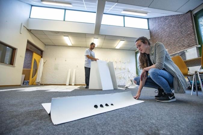 Kunstenaars brengen creatief eerbetoon aan voormalige Sint Martinusschool in Weert