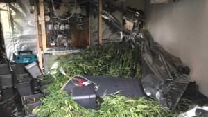 Brandweer stuit op wietplantage na melding over gaslek