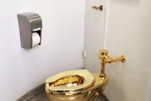 'Massief gouden wc gestolen in Engeland'