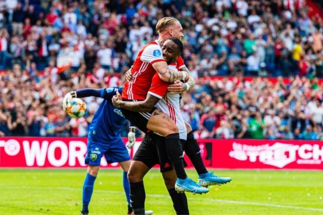 Feyenoord klopt ADO ondanks twee eigen goals