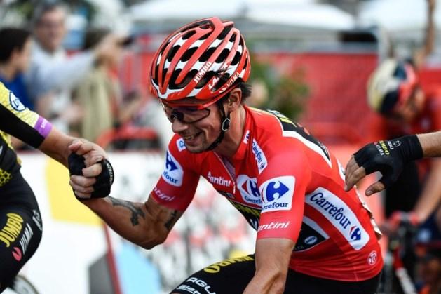 Roglic wint met Vuelta eerste grote ronde, slotrit prooi voor Jakobsen
