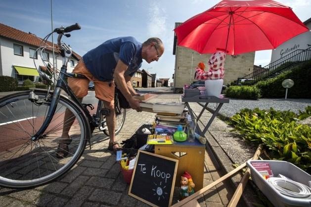 Buurtvereniging Proosdijveld Zuid Beek houdt straatmarkt