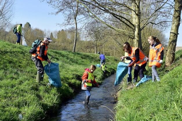 Opruimactie 'World Cleanup Day' in Gulpen-Wittem