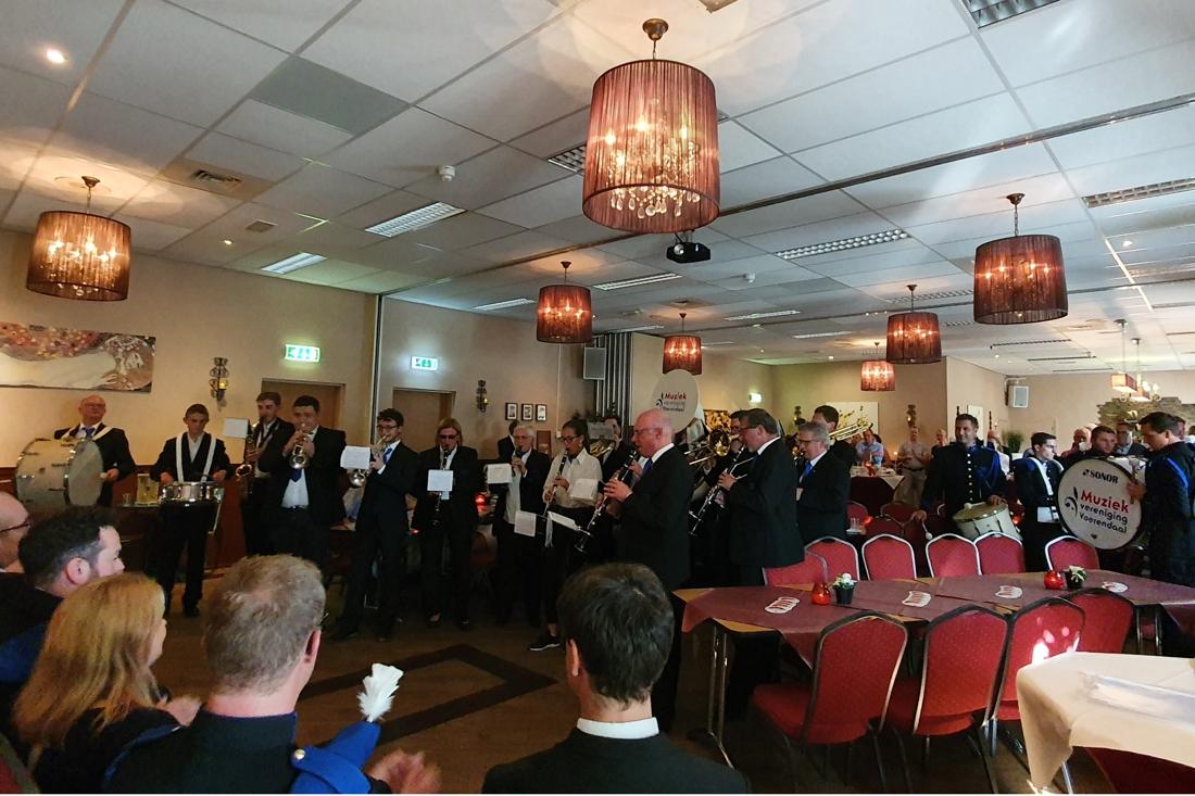 Zeven jubilarissen bij Muziekvereniging Voerendaal - De Limburger