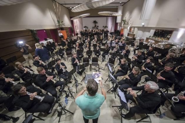 Drie fanfares concerteren in Schimmert