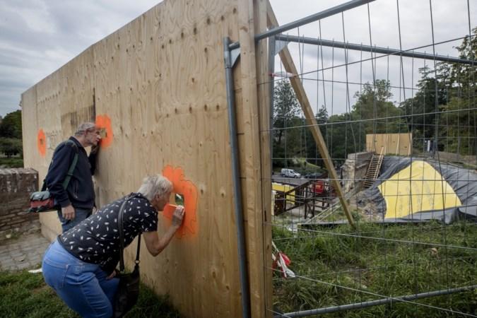 Maastricht heeft er met ingestort stukje stadswal een toeristische attractie bij