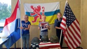 Projectweken 75 jaar bevrijding op basisschool de Meridiaan in Simpelveld