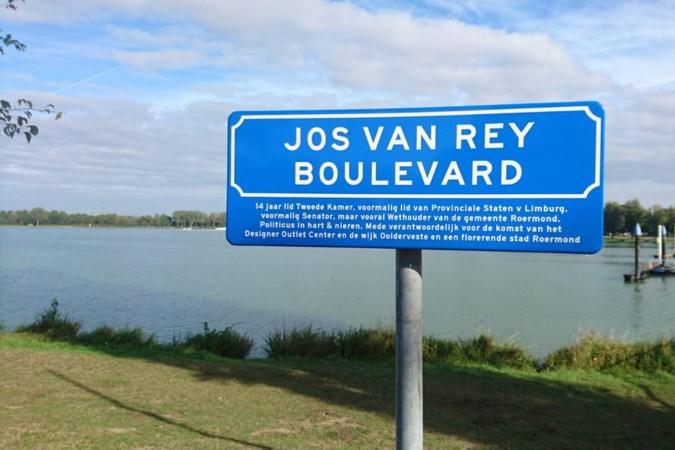 Roermond heeft een 'Jos van Rey Boulevard'