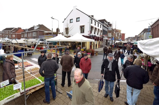 Weekmarkt in centrum Kerkrade verplaatst