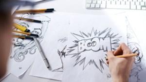 Workshop striptekenen door illustrator Vick Debergh in bieb Vaals