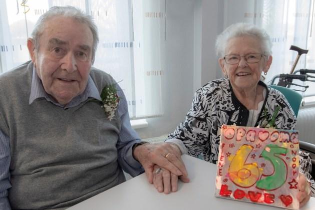 Zeg het maar… Wout en Els van de Vlag 65 jaar getrouwd