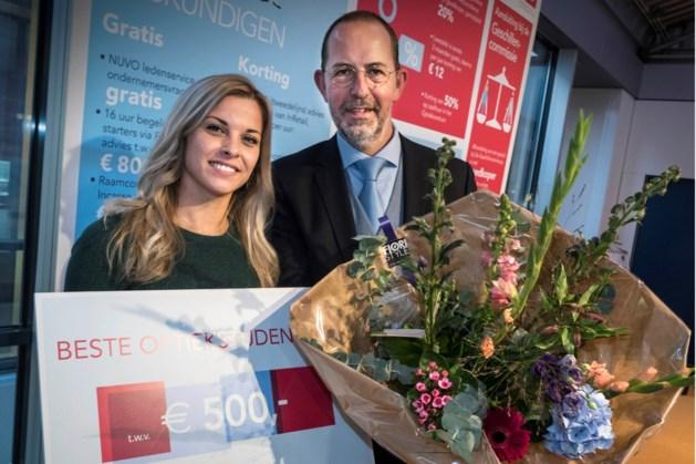 Oud-leerling Gilde Opleidingen Roermond Lotte van Thiel beste optiekstudent