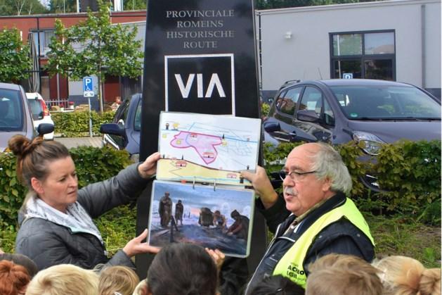 Archeologie aan en rond hoogste VIA Belgica plateau in Landgraaf