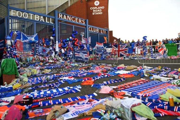 Indrukwekkend eerbetoon aan Ricksen door Rangers FC en Feyenoord