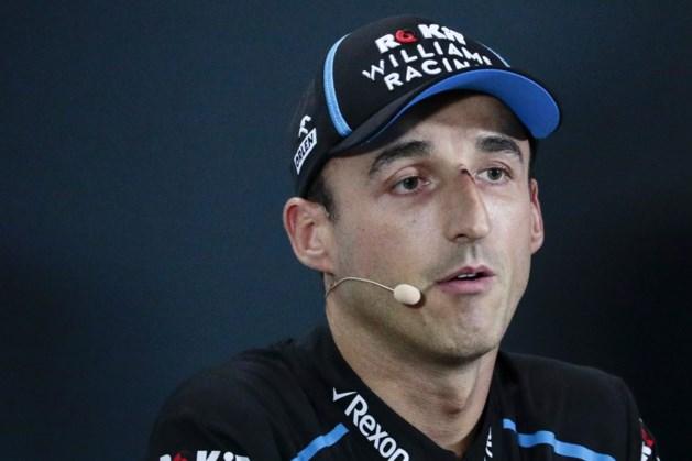Kubica vertrekt bij Formule 1-team Williams