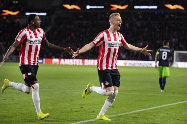 PSV rekent in Europa League af met Sporting