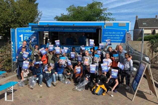 Maasbreese basisschoolleerlingen gaan de strijd aan met zwerfafval