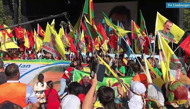 Video: Manifestatie van Koerden in Maastricht verloopt rustig