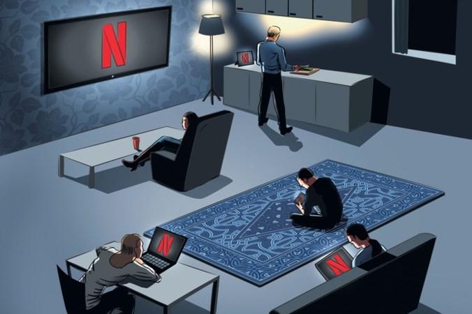 De invloed van Netflix op ons dagelijks leven wordt steeds zichtbaarder