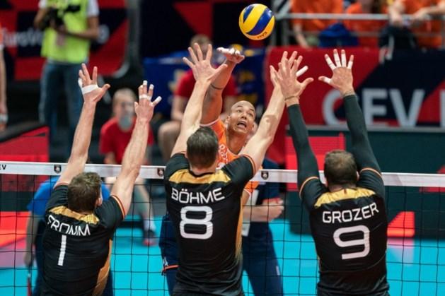 Volleyballers sneuvelen op EK in achtste finales