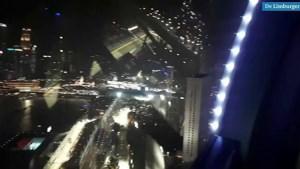 Video: Reuzenrad in Singapore biedt een andere kijk op racen