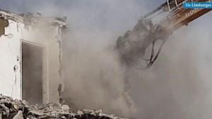 Video: Monster 'verslindt' flatgebouw in Maastricht