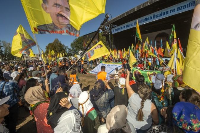 Massabetoging Koerden in Maastricht: 'Erdogan is een kat met negen levens, maar zijn tijd is voorbij'