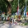 Herdenking omgekomen vliegtuigbemanningsleden en openstelling bergingslocatie bommenwerper