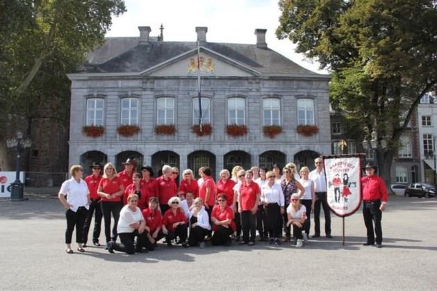 Workshop linedance op Vrijthof in Maastricht