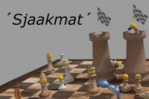 Toneelvereniging Zeeversbas speelt 'Sjaakmat'