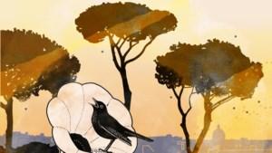 Nootzaak: Ingeblikte vogelklanken vertederen in Pini di Roma
