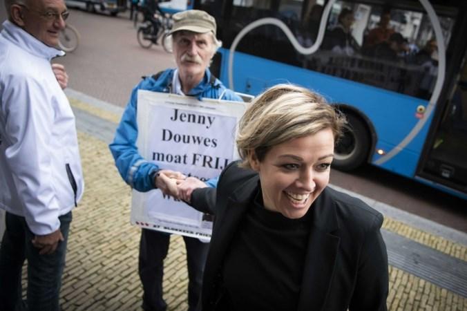 Jenny Douwes in hoger beroep blokkeerfriezen: 'Ik heb niks strafbaars gedaan'
