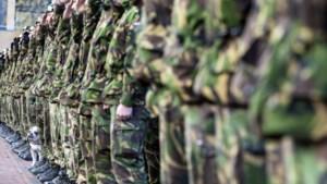 Militairen oefenen in Eijsden-Margraten