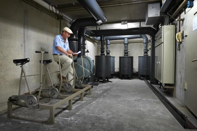 In de ABP-atoomkelder staan nog steeds vier hometrainers om stroom op te wekken
