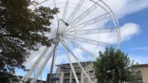 Reuzenrad is te groot voor Markt en verschijnt op Kasteelplein in Weert