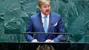 Koning Willem-Alexander roept bij VN op tot samenwerking