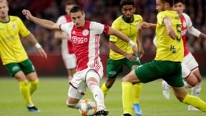 Fortuna kan het Ajax één helft moeilijk maken, maar krijgt alsnog flink klop