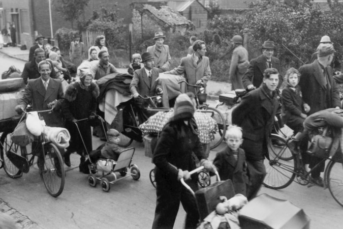 De evacuatie van Kerkrade: dodelijke volksverhuizing dwars door de vuurlinie